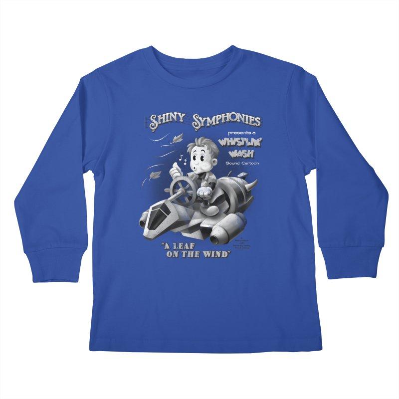 Shiny Symphonies: Whistlin' Wash Kids Longsleeve T-Shirt by Ian Leino @ Threadless