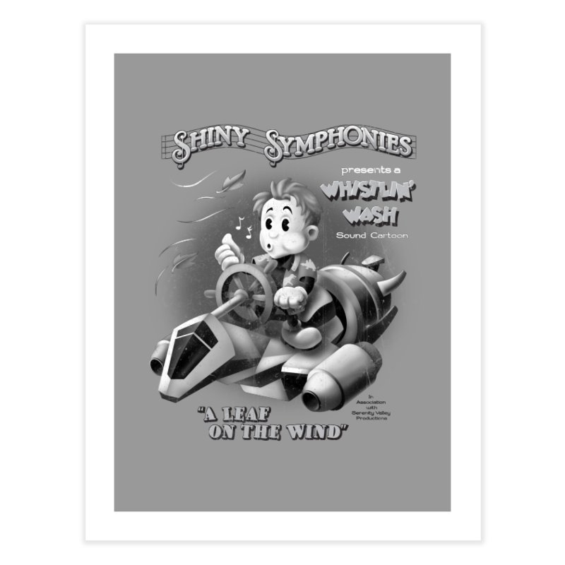 Shiny Symphonies: Whistlin' Wash Home  by Ian Leino @ Threadless