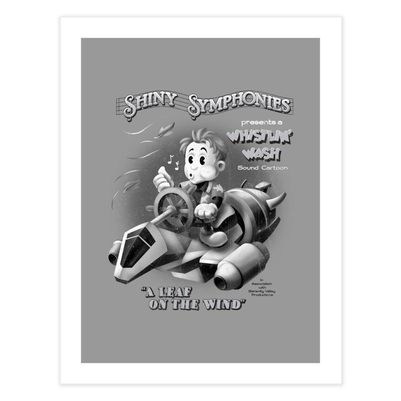 Shiny Symphonies: Whistlin' Wash Home Fine Art Print by Ian Leino @ Threadless