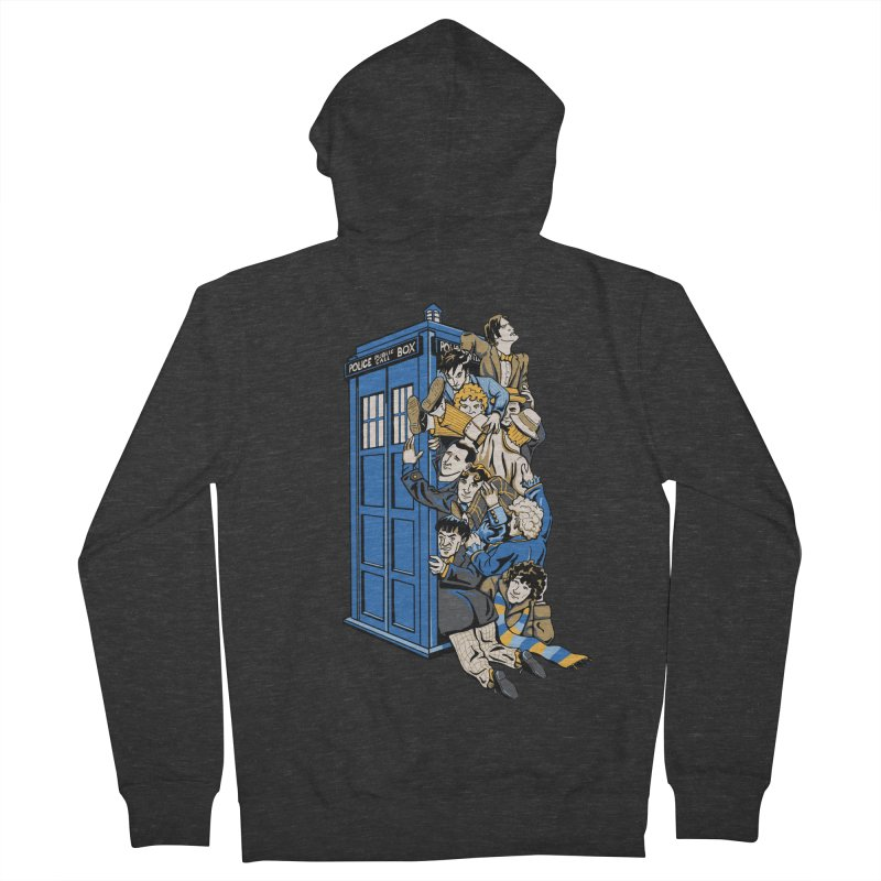 Who's Who Women's French Terry Zip-Up Hoody by Ian Leino @ Threadless