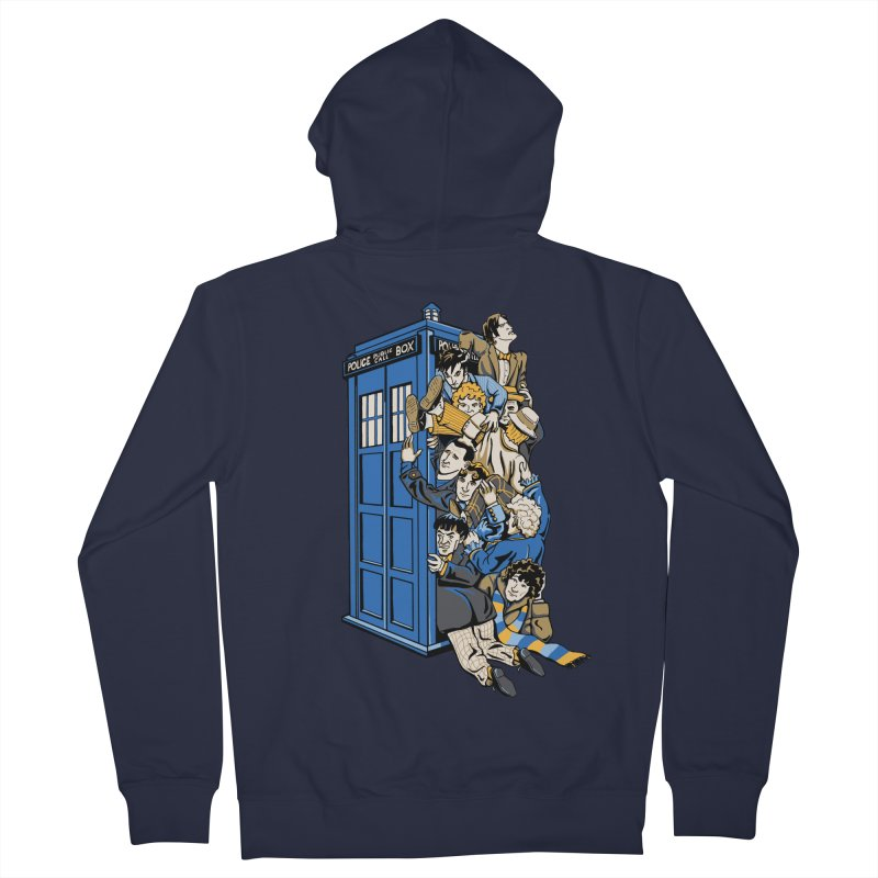 Who's Who Women's Zip-Up Hoody by Ian Leino @ Threadless