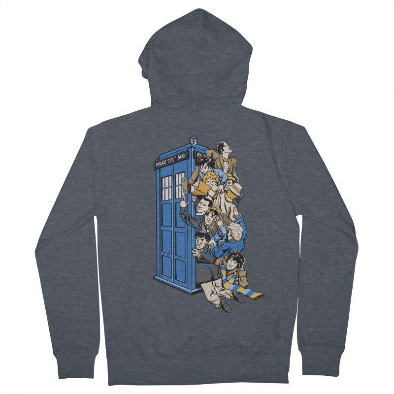 Who's Who Men's French Terry Zip-Up Hoody by Ian Leino @ Threadless