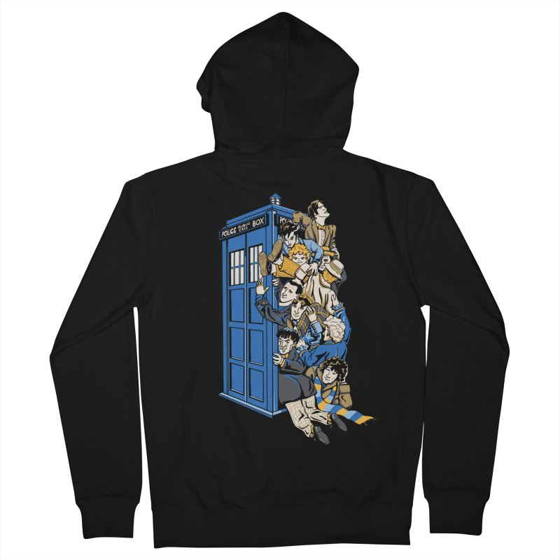 Who's Who Men's Zip-Up Hoody by Ian Leino @ Threadless