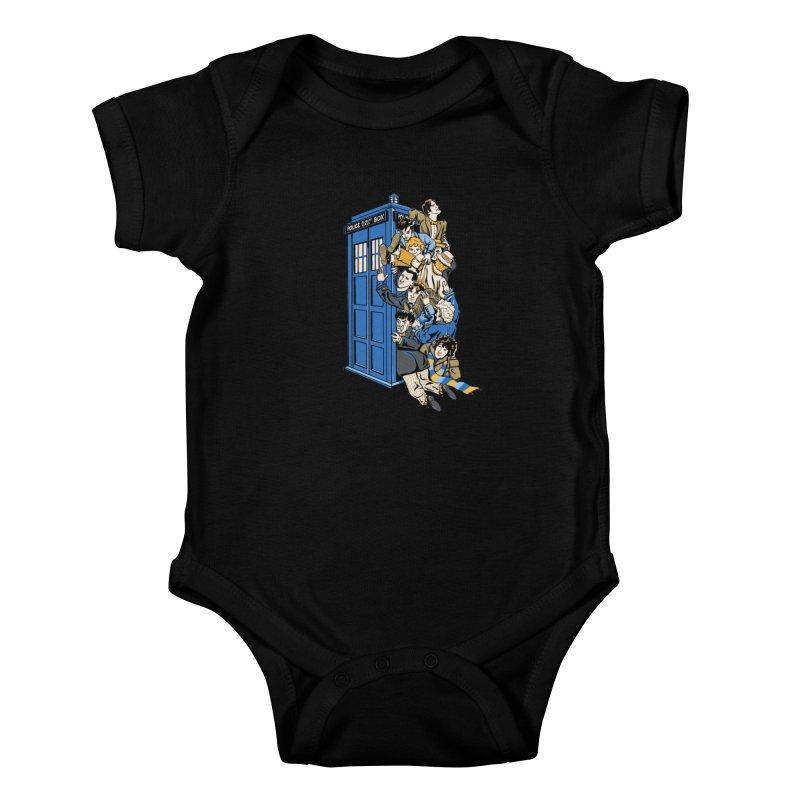 Who's Who Kids Baby Bodysuit by Ian Leino @ Threadless