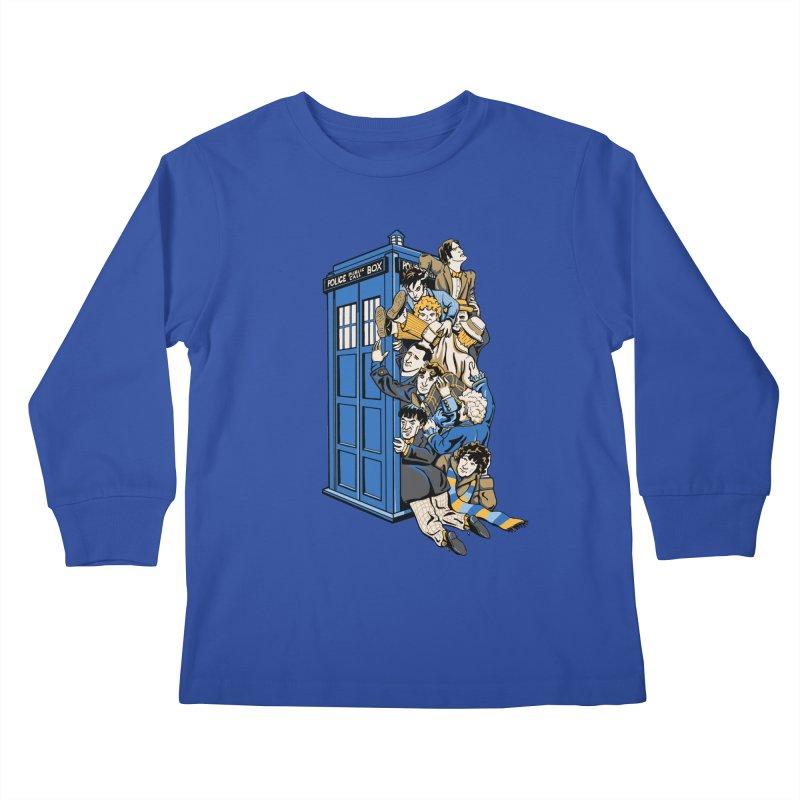Who's Who Kids Longsleeve T-Shirt by Ian Leino @ Threadless