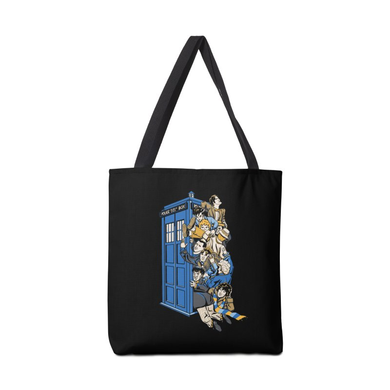 Who's Who Accessories Bag by Ian Leino @ Threadless