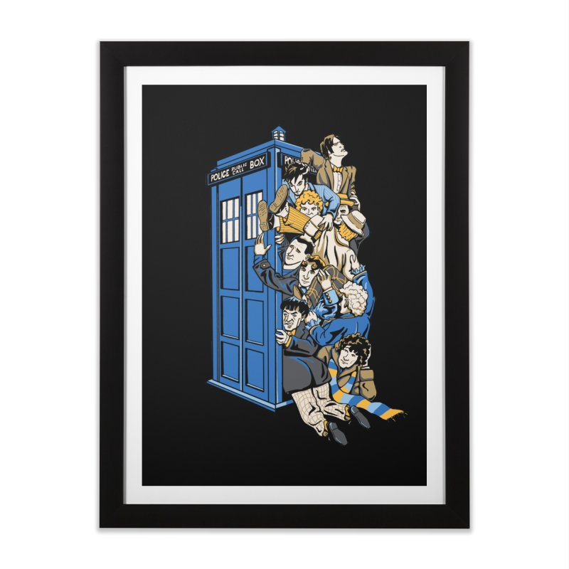 Who's Who Home Framed Fine Art Print by Ian Leino @ Threadless