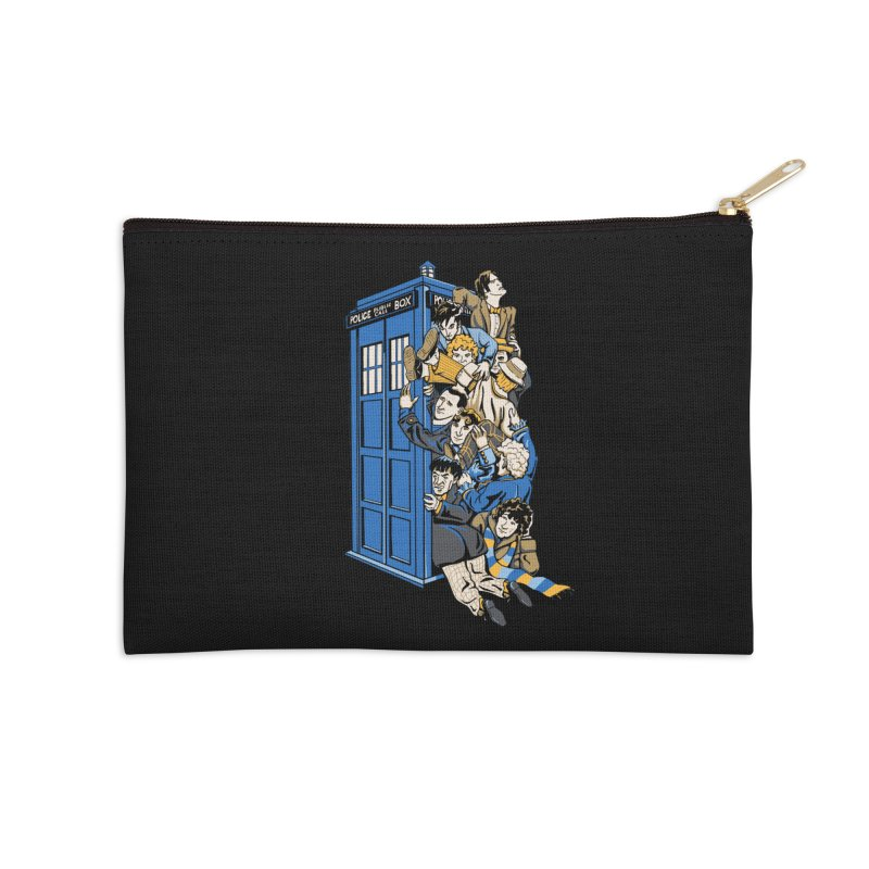 Who's Who Accessories Zip Pouch by Ian Leino @ Threadless