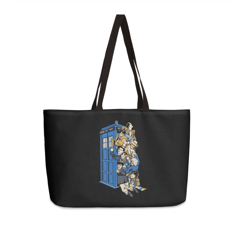 Who's Who Accessories Weekender Bag Bag by Ian Leino @ Threadless