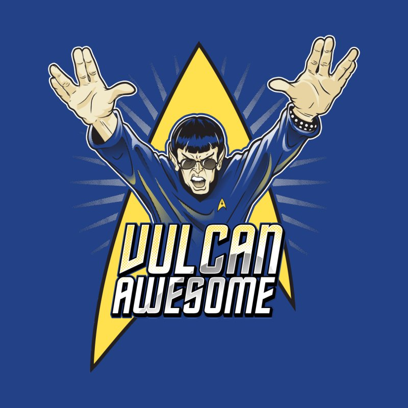 Vulcan Awesome Home Stretched Canvas by Ian Leino @ Threadless