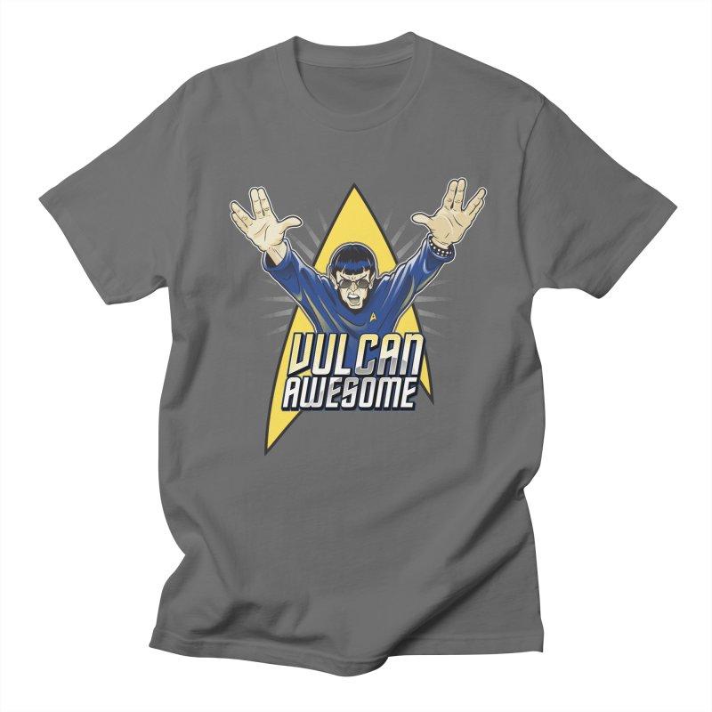 Vulcan Awesome Men's T-Shirt by Ian Leino @ Threadless