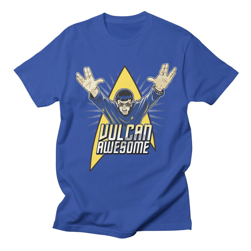 Vulcan Awesome Women's Regular Unisex T-Shirt by Ian Leino @ Threadless