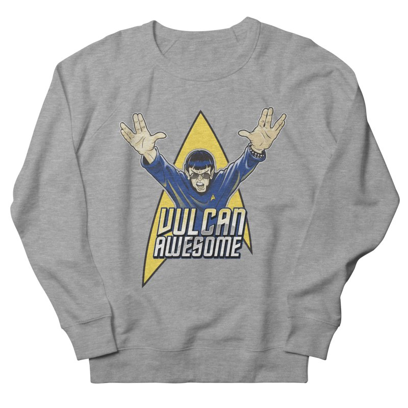 Vulcan Awesome Women's Sweatshirt by Ian Leino @ Threadless