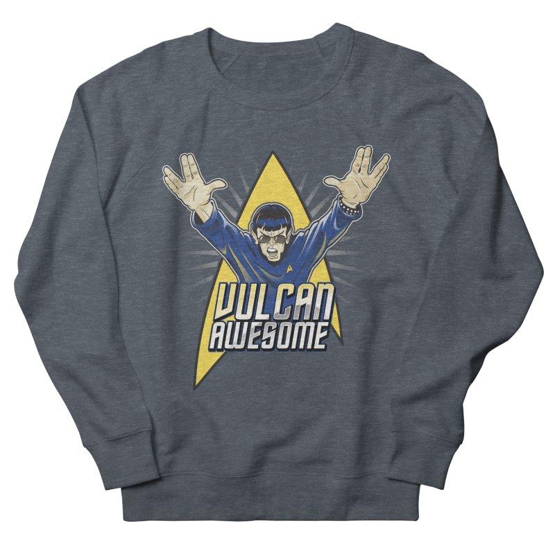Vulcan Awesome Men's Sweatshirt by Ian Leino @ Threadless