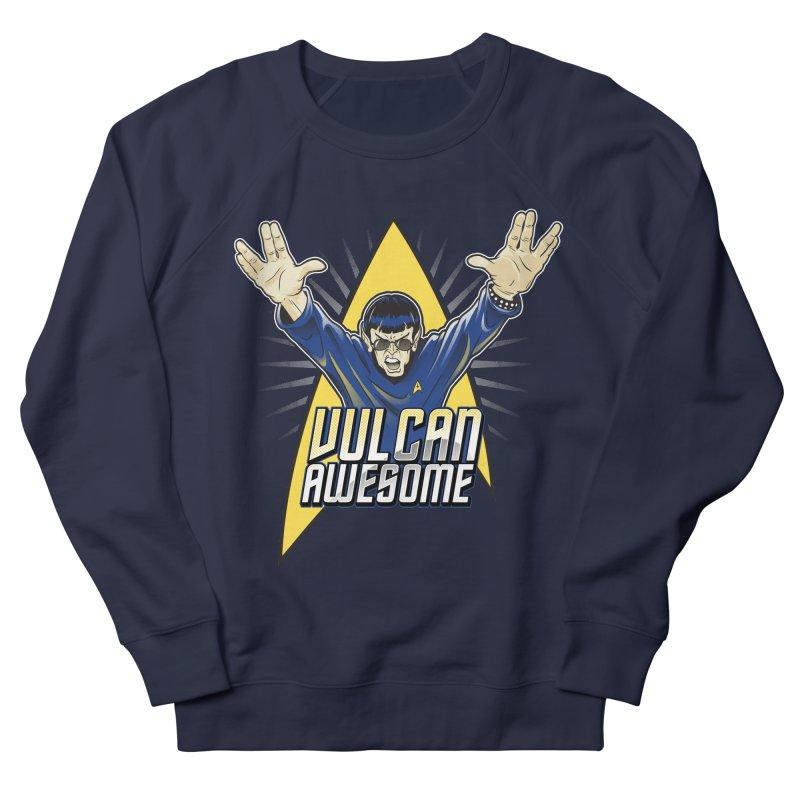 Vulcan Awesome Men's French Terry Sweatshirt by Ian Leino @ Threadless