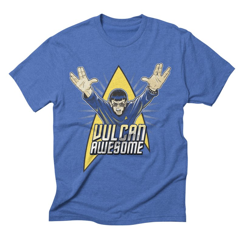 Vulcan Awesome Men's Triblend T-Shirt by Ian Leino @ Threadless