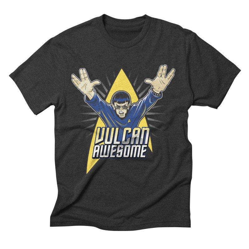 Vulcan Awesome Men's Triblend T-Shirt by Ian Leino @ Threadless