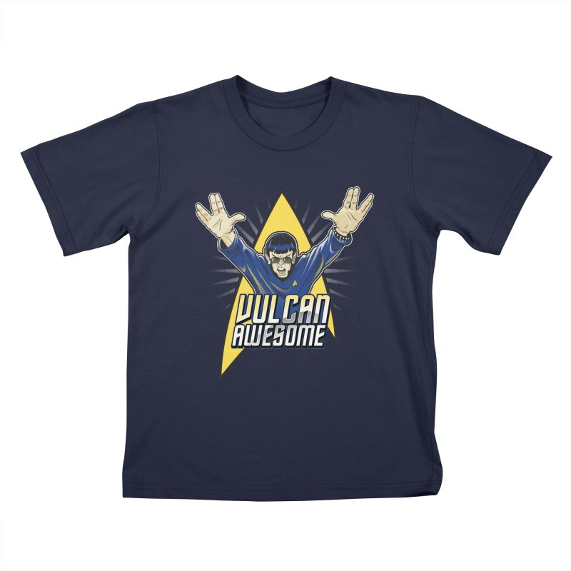 Vulcan Awesome Kids T-Shirt by Ian Leino @ Threadless