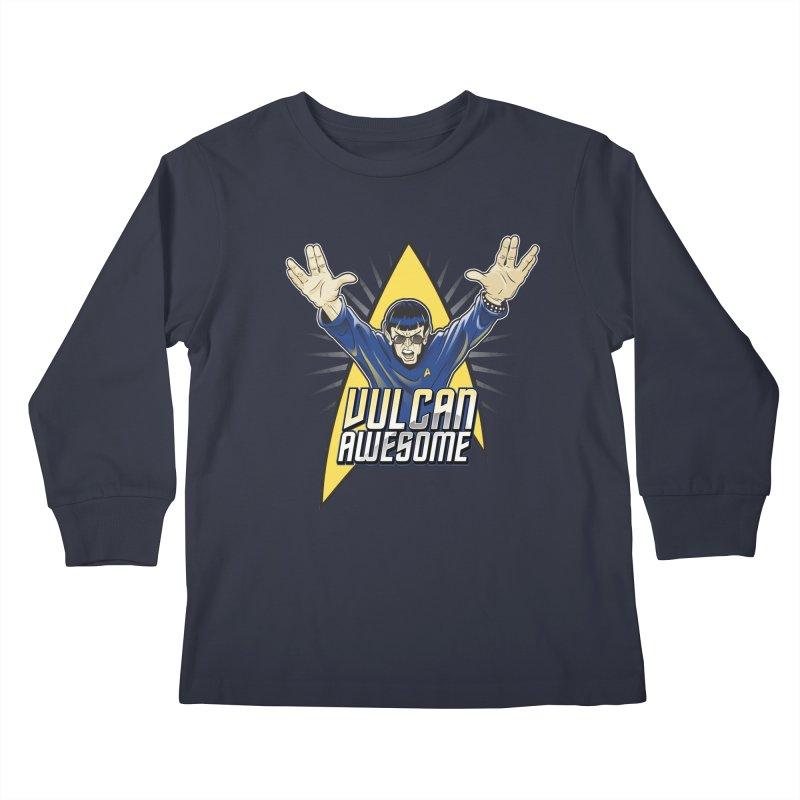 Vulcan Awesome Kids Longsleeve T-Shirt by Ian Leino @ Threadless