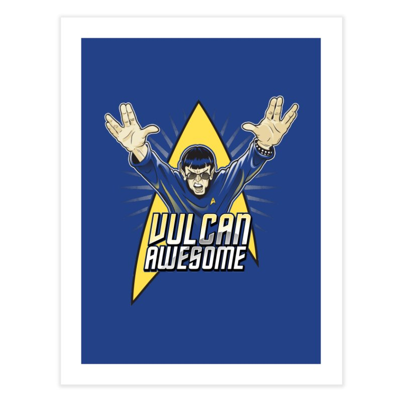 Vulcan Awesome Home  by Ian Leino @ Threadless