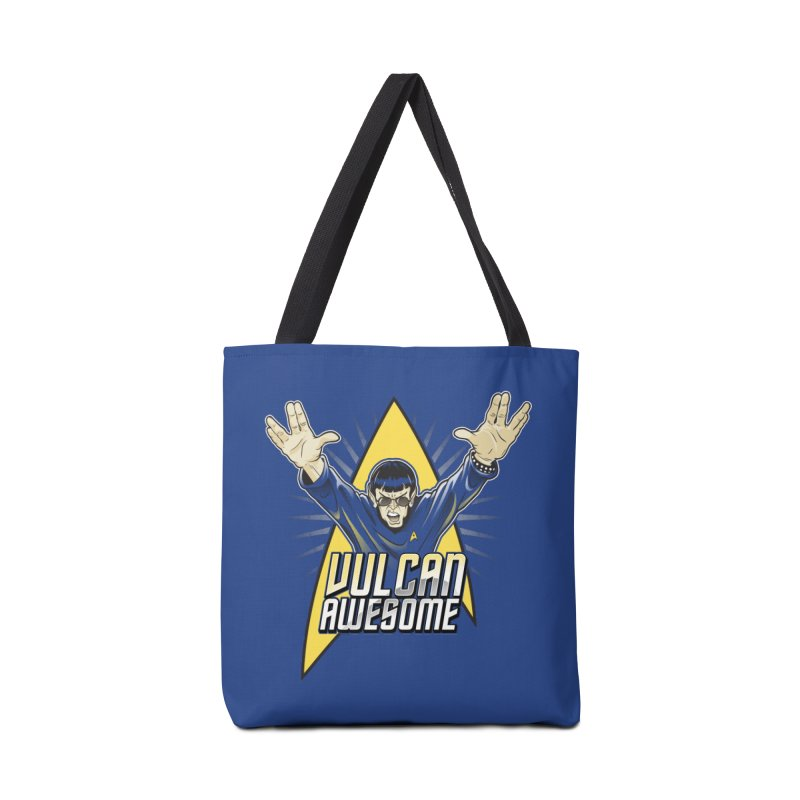 Vulcan Awesome Accessories Tote Bag Bag by Ian Leino @ Threadless