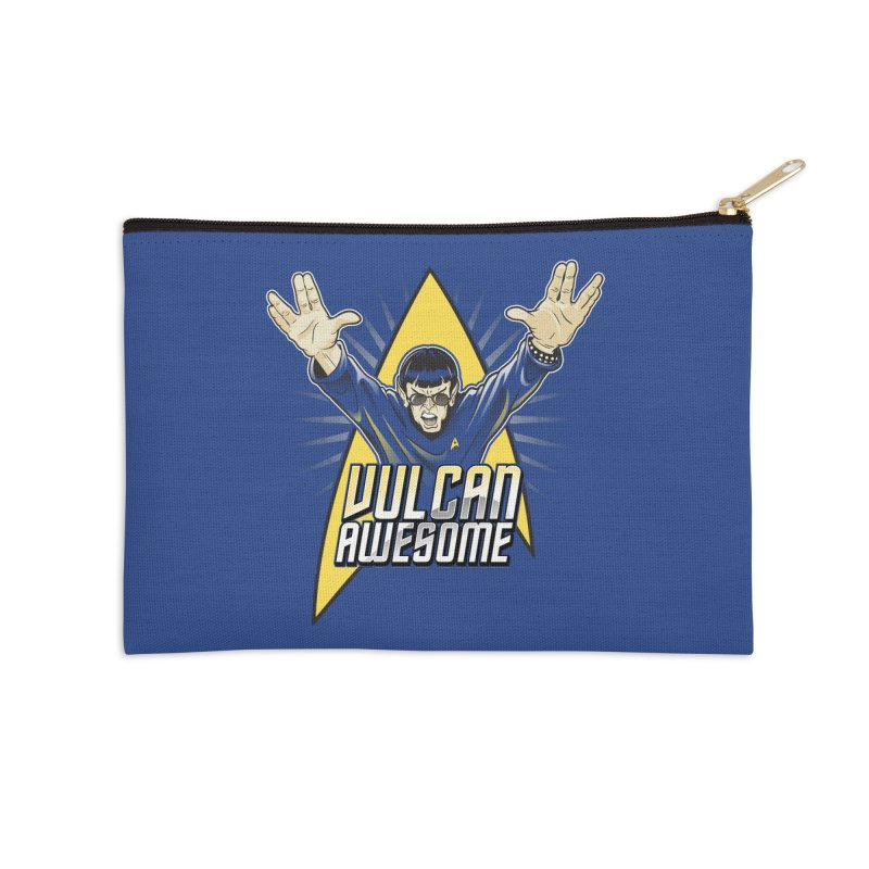 Vulcan Awesome Accessories Zip Pouch by Ian Leino @ Threadless