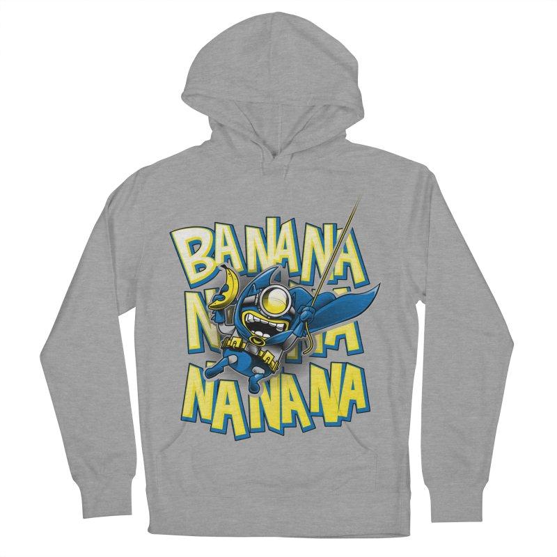 Banana Nana Men's French Terry Pullover Hoody by Ian Leino @ Threadless