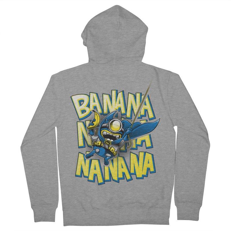 Banana Nana Women's Zip-Up Hoody by Ian Leino @ Threadless
