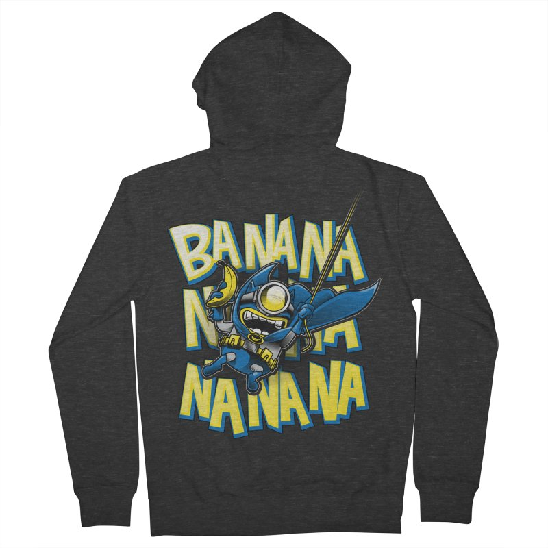 Banana Nana Men's Zip-Up Hoody by Ian Leino @ Threadless