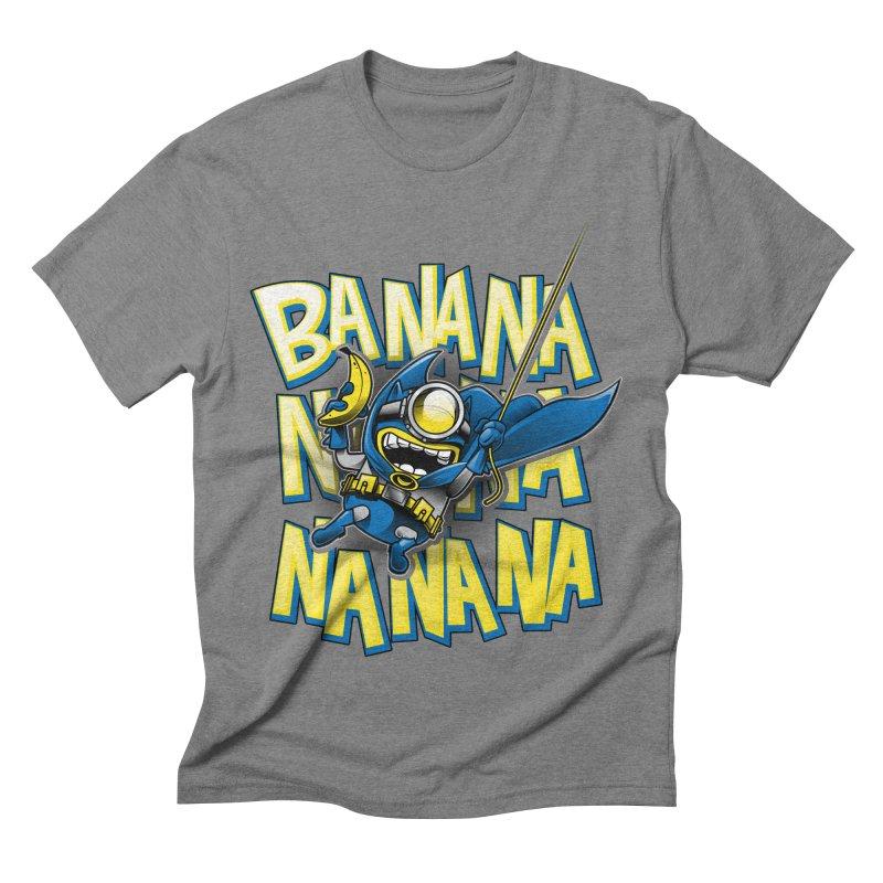 Banana Nana Men's Triblend T-shirt by Ian Leino @ Threadless