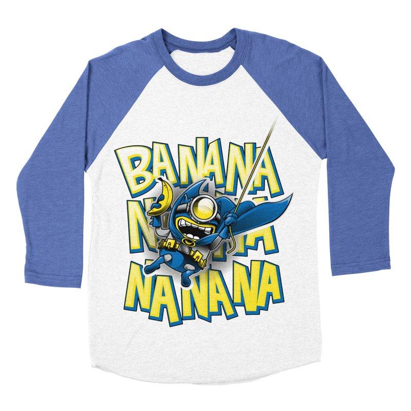 Banana Nana Women's Baseball Triblend Longsleeve T-Shirt by Ian Leino @ Threadless