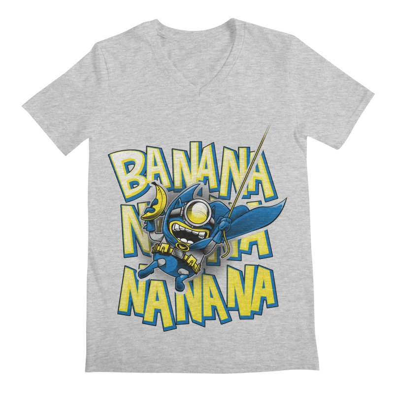 Banana Nana Men's V-Neck by Ian Leino @ Threadless