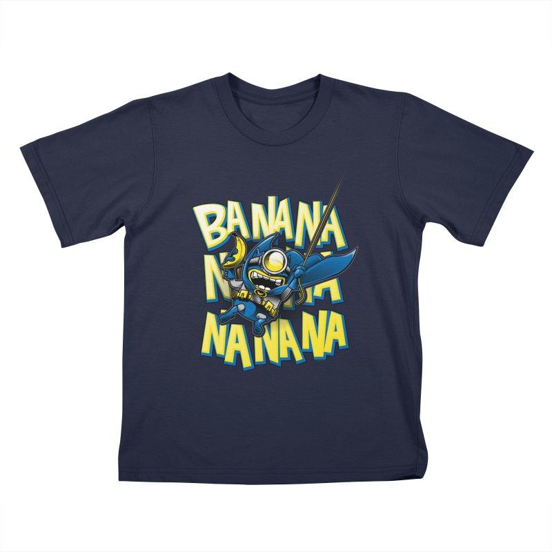 Banana Nana Kids T-Shirt by Ian Leino @ Threadless