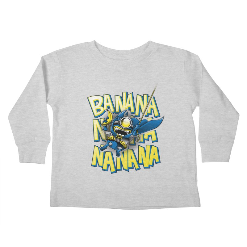 Banana Nana Kids Toddler Longsleeve T-Shirt by Ian Leino @ Threadless