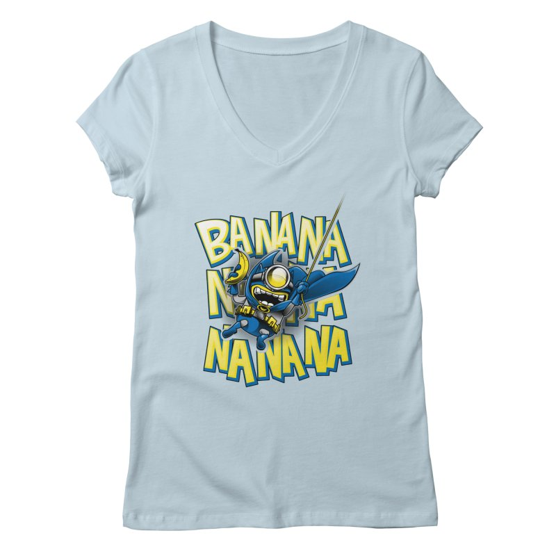 Banana Nana Women's Regular V-Neck by Ian Leino @ Threadless