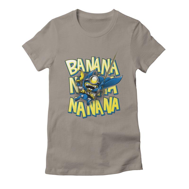 Banana Nana Women's Fitted T-Shirt by Ian Leino @ Threadless