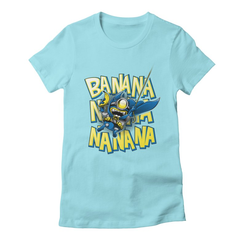 Banana Nana Women's Fitted T-Shirt by Ian Leino @ Threadless