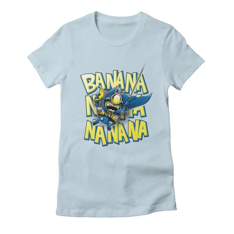 Banana Nana Women's T-Shirt by Ian Leino @ Threadless