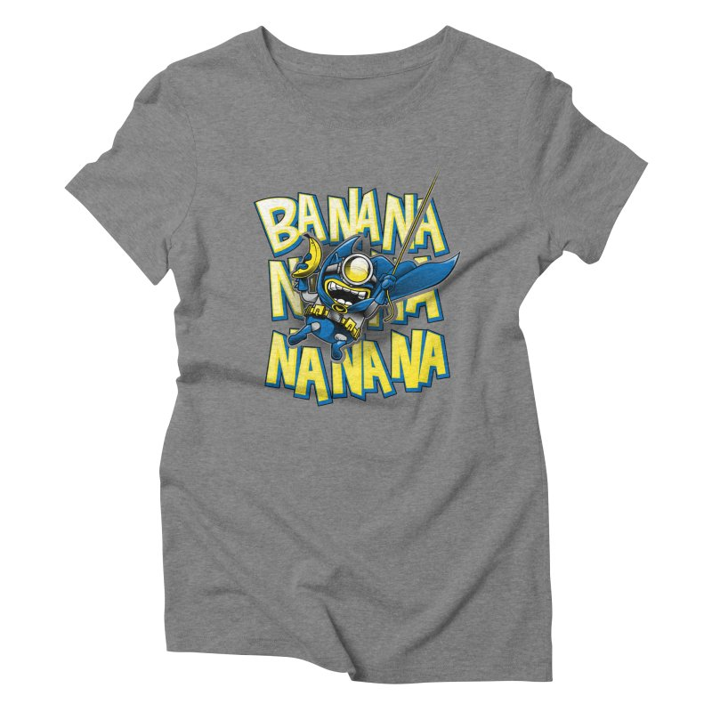 Banana Nana Women's Triblend T-Shirt by Ian Leino @ Threadless