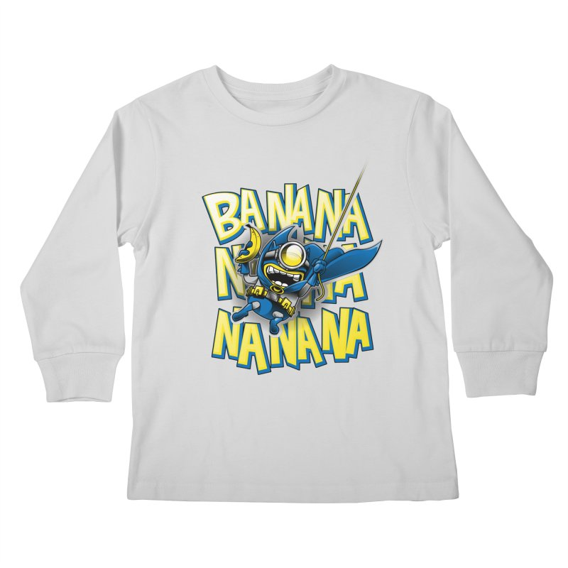 Banana Nana Kids Longsleeve T-Shirt by Ian Leino @ Threadless