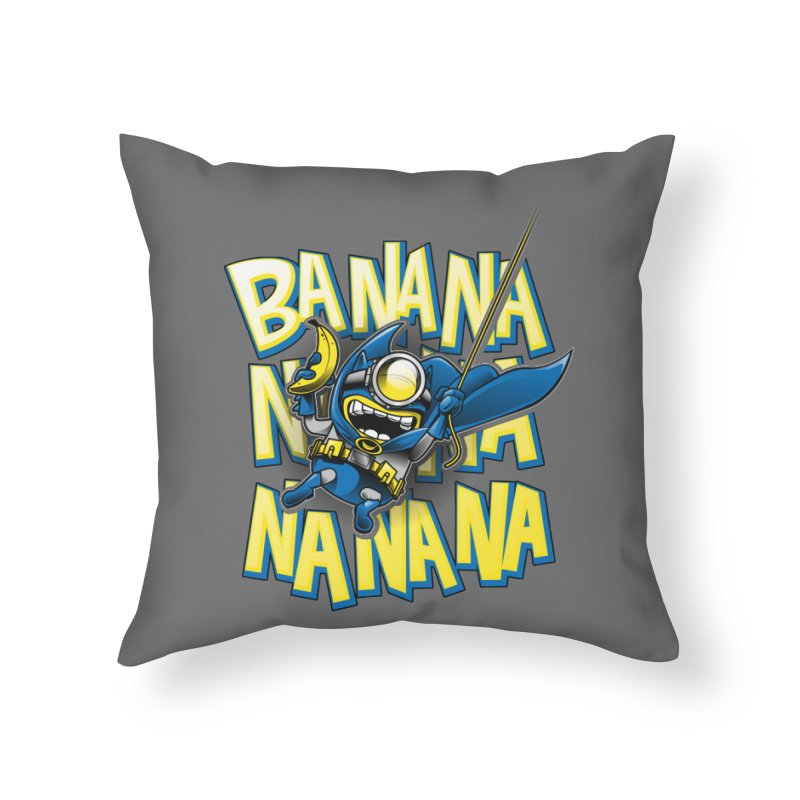Banana Nana Home Throw Pillow by Ian Leino @ Threadless