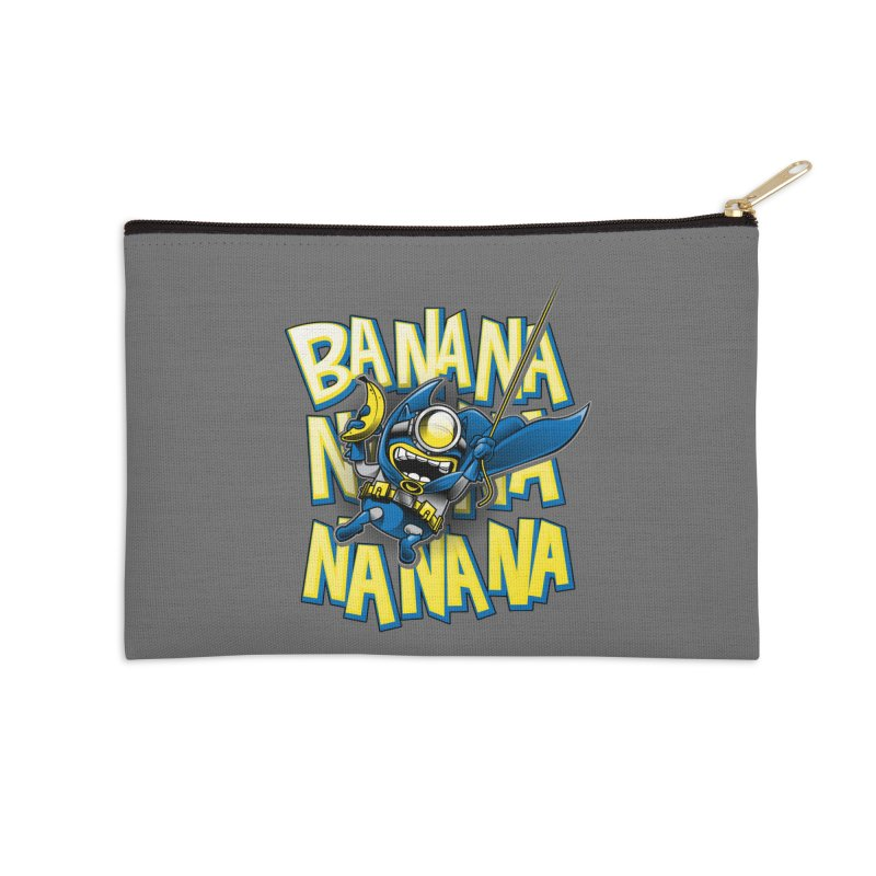 Banana Nana Accessories Zip Pouch by Ian Leino @ Threadless