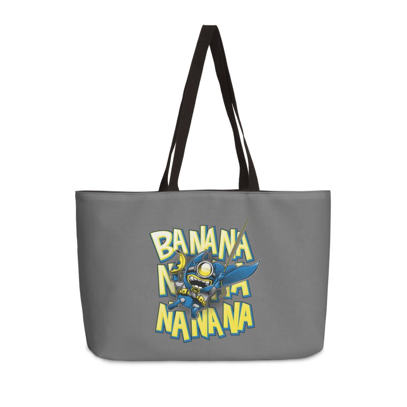 Banana Nana Accessories Weekender Bag Bag by Ian Leino @ Threadless