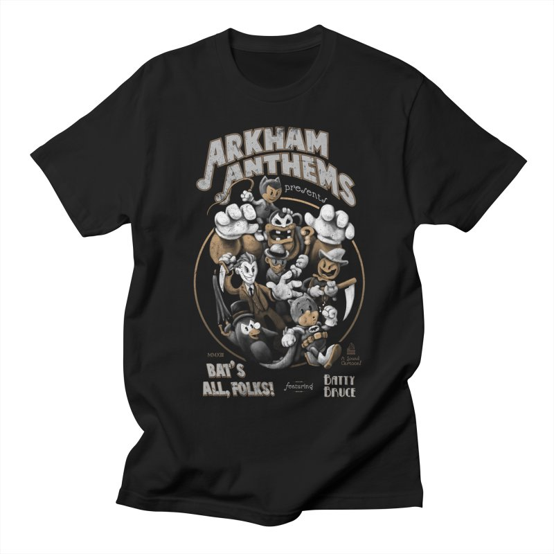 Bat's All, Folks Men's T-Shirt by Ian Leino @ Threadless
