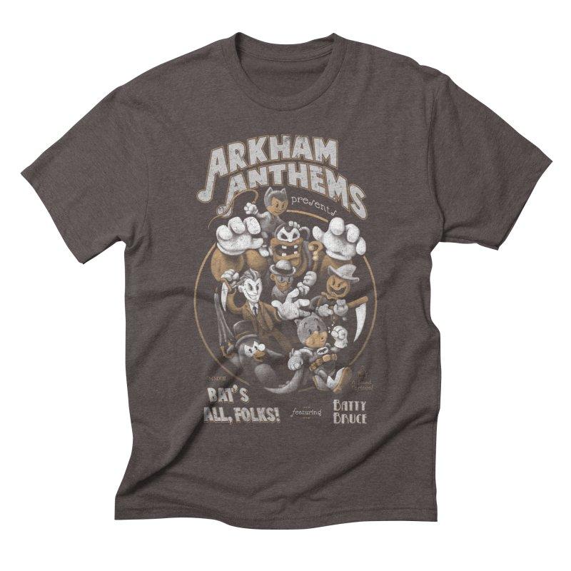 Bat's All, Folks Men's Triblend T-shirt by Ian Leino @ Threadless
