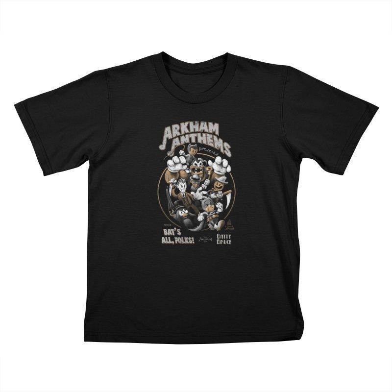 Bat's All, Folks Kids T-Shirt by Ian Leino @ Threadless