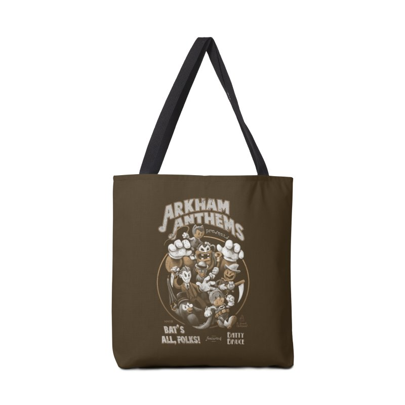 Bat's All, Folks Accessories Tote Bag Bag by Ian Leino @ Threadless