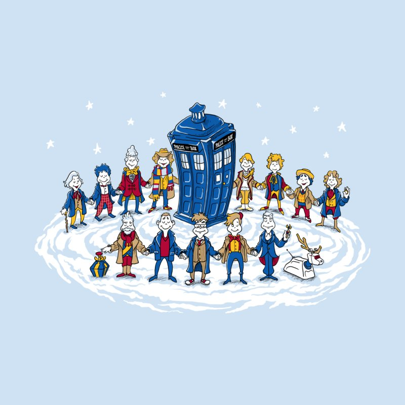 Doctor Whoville Home Fine Art Print by Ian Leino @ Threadless