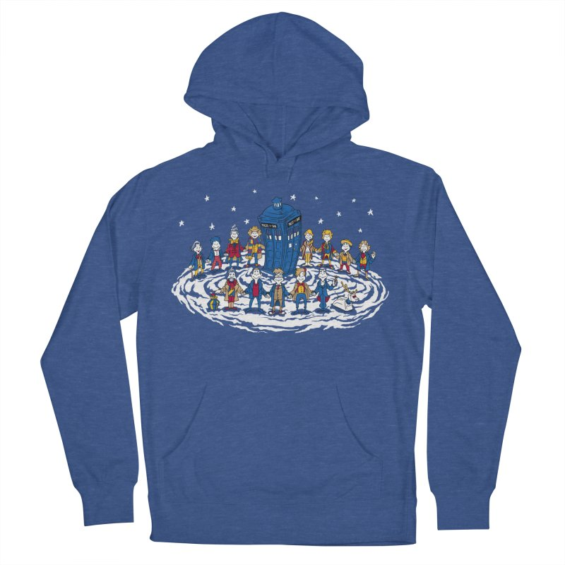 Doctor Whoville Men's French Terry Pullover Hoody by Ian Leino @ Threadless