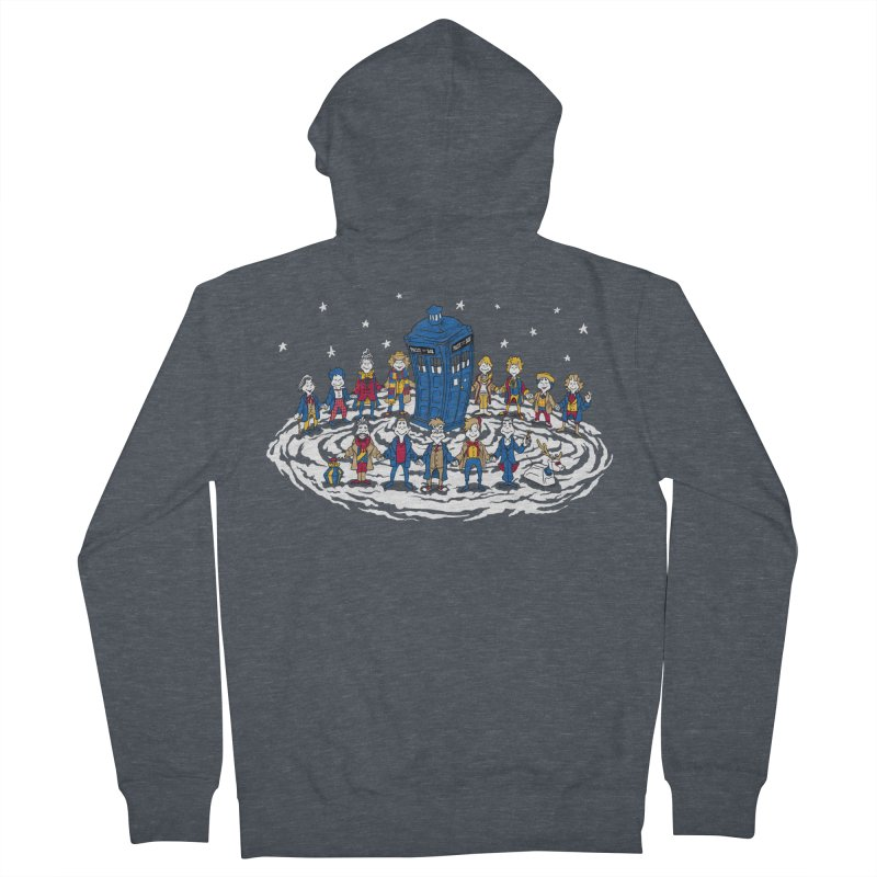 Doctor Whoville Women's French Terry Zip-Up Hoody by Ian Leino @ Threadless